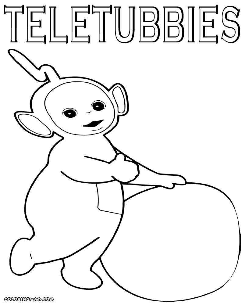 Fine Teletubbies Laa Laa Coloring Pages Pattern - Resume Ideas ...