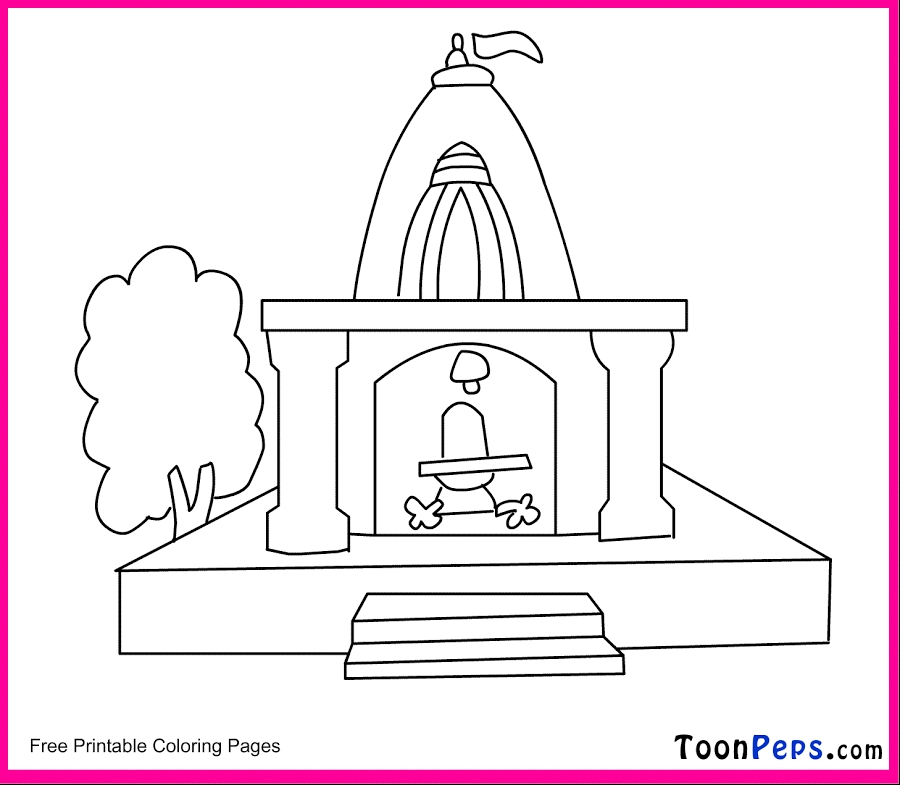 temple coloring page - r=temple