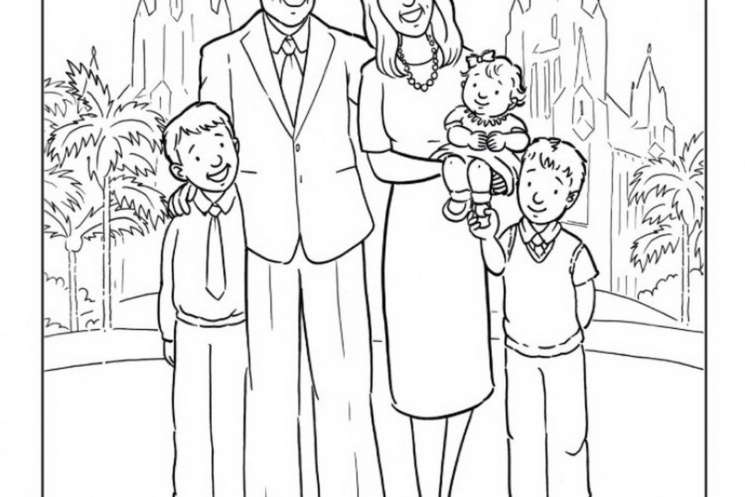 temple coloring page - temple