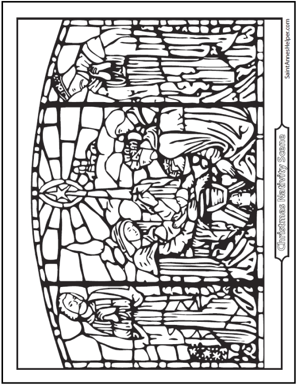 ten commandments coloring pages - nativity coloring pages