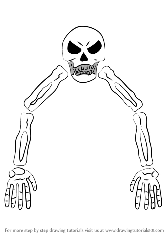 terraria coloring pages - coloring page of skeletron terraria sketch templates