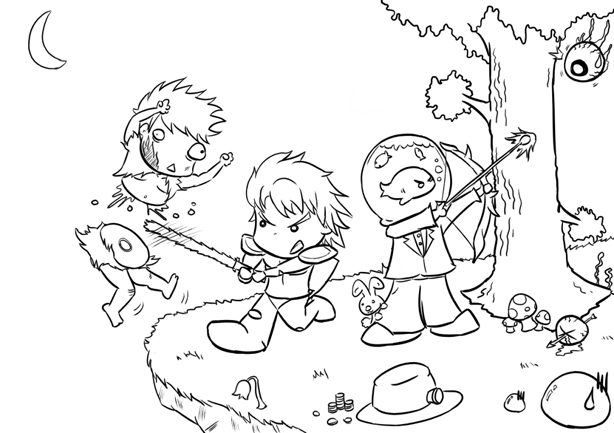 terraria coloring pages - terraria game coloring pages sketch templates