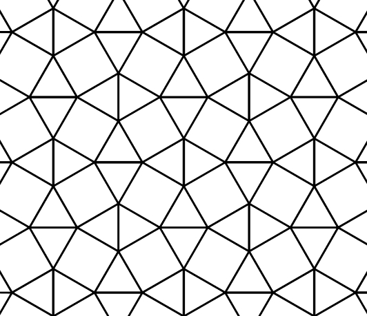tessellation coloring pages - maths t specificite std2a pavage exercices