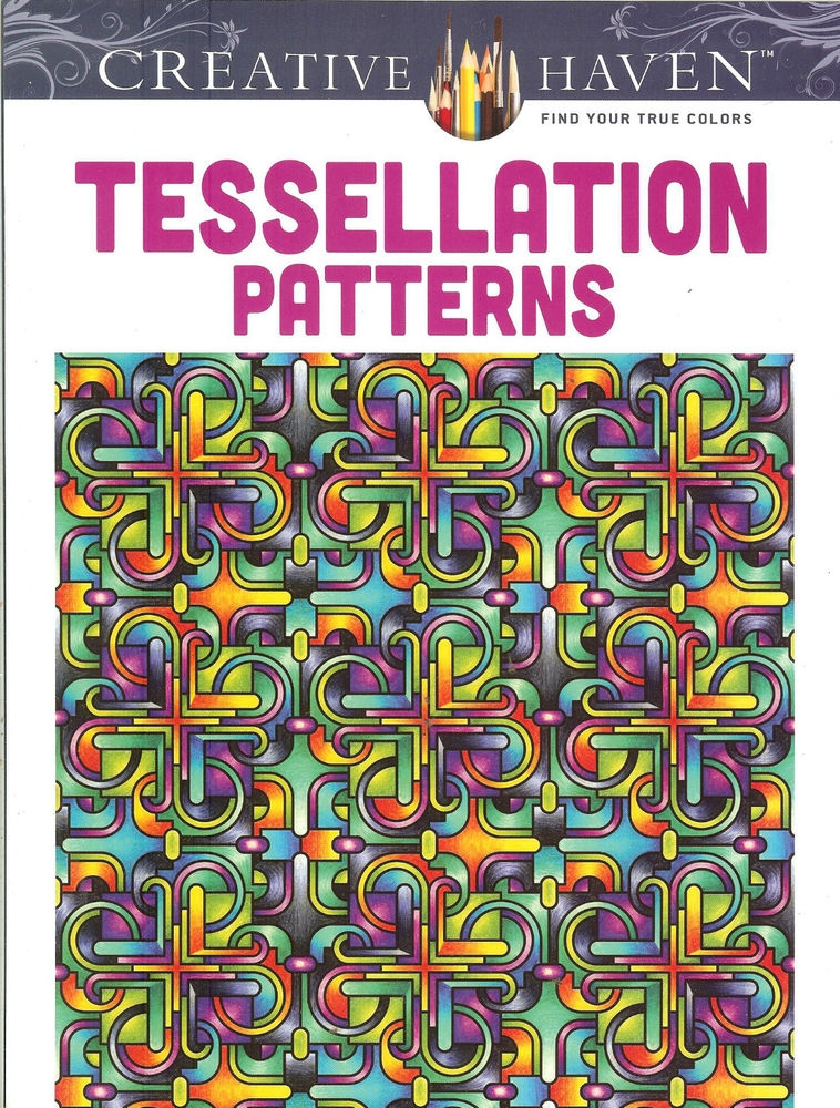 tessellation coloring pages -