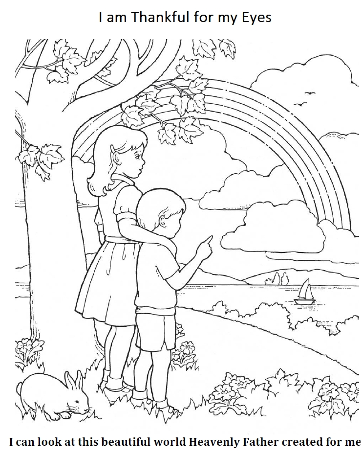 thankful coloring pages -