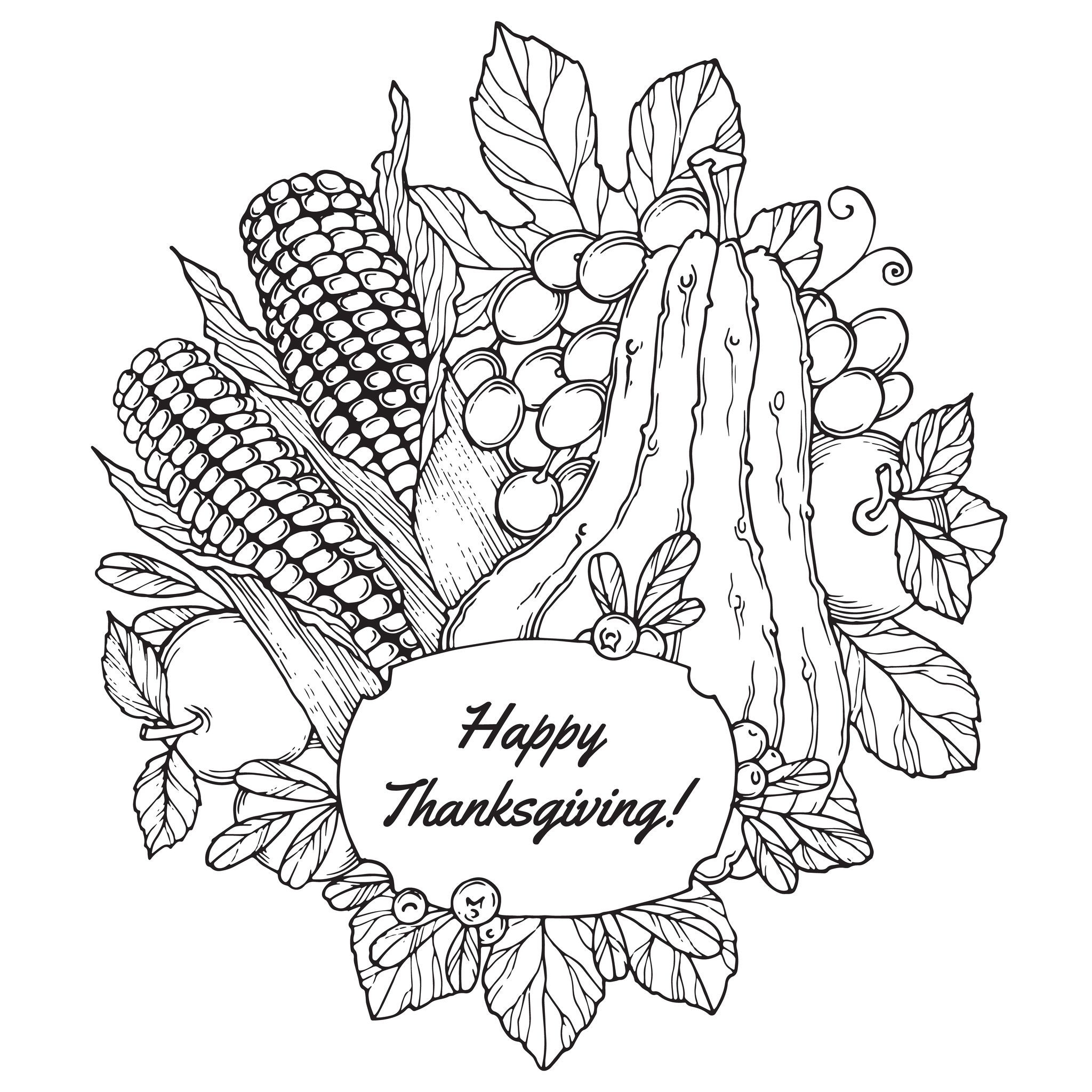 thanksgiving coloring pages for adults - thanksgiving coloring pages for adults