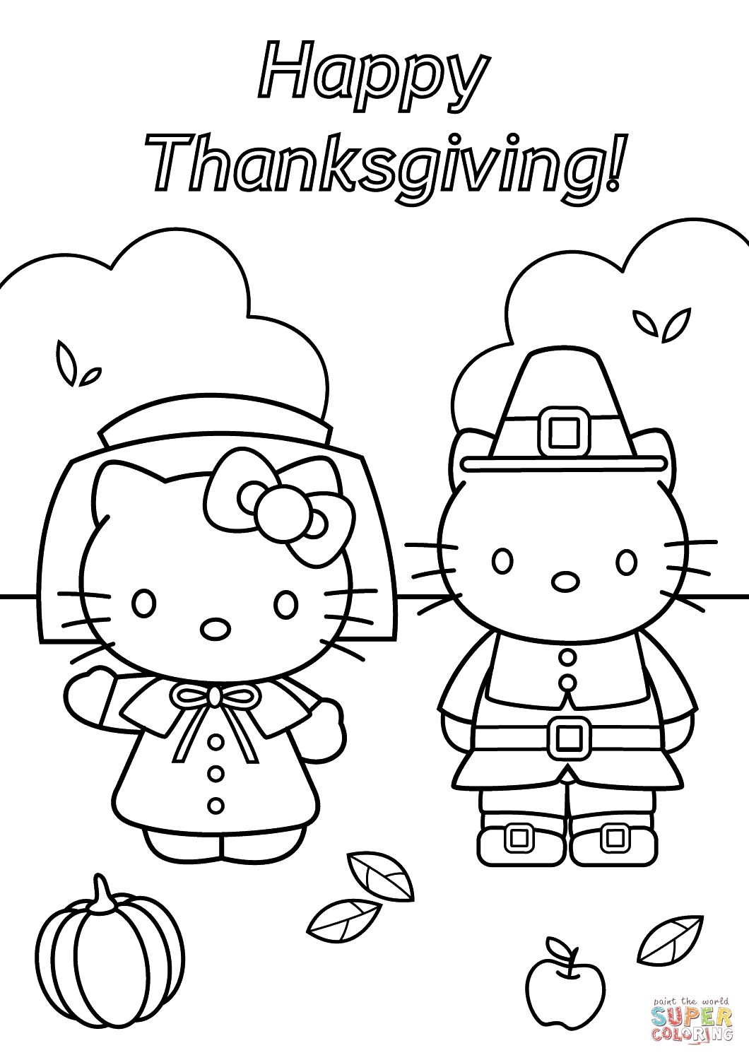 thanksgiving coloring pages free - thanksgiving coloring pages hello kitty thanksgiving coloring page free printable coloring pages to print