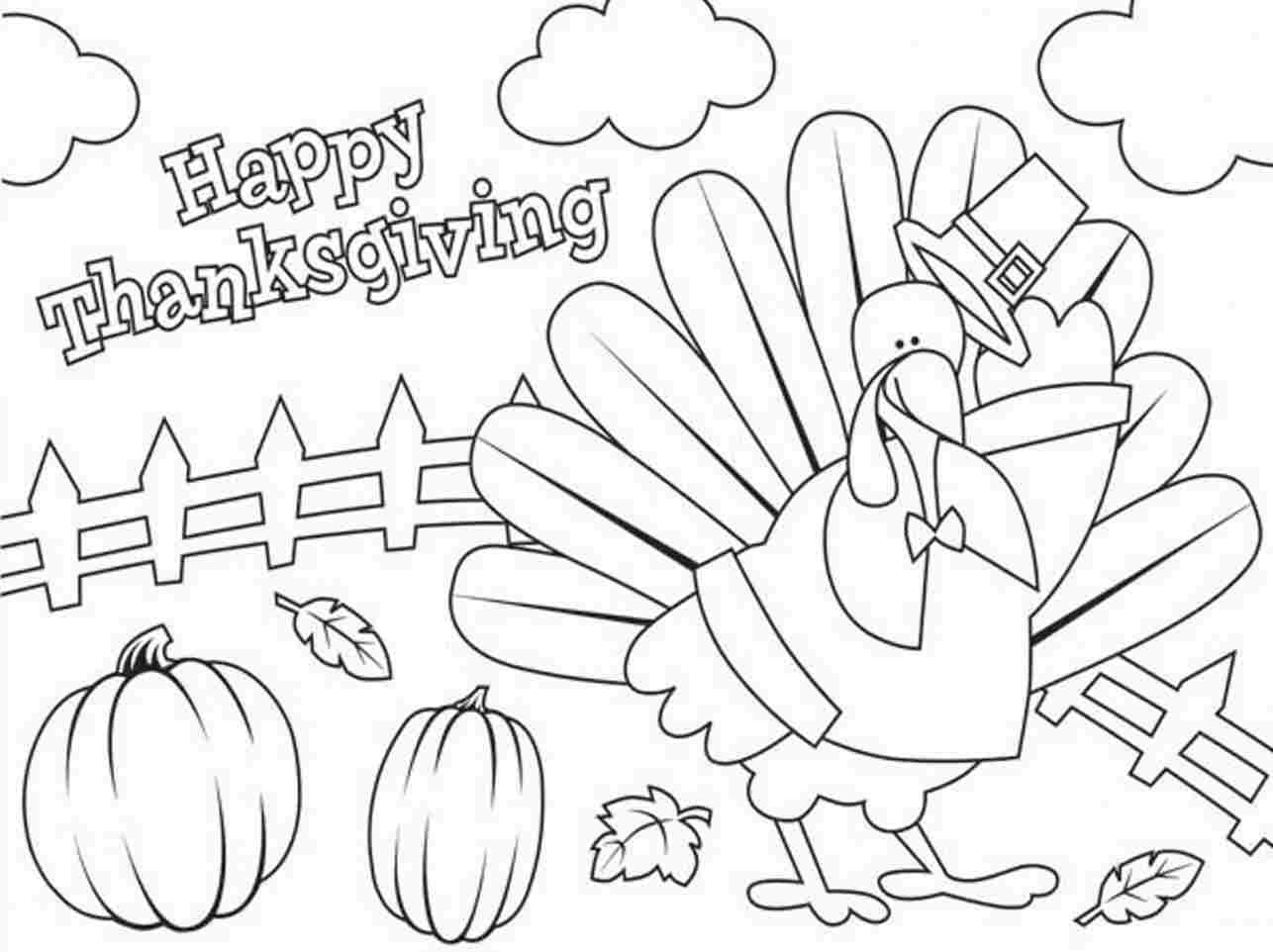 thanksgiving coloring pages free - thanksgiving coloring pages for kindergarten