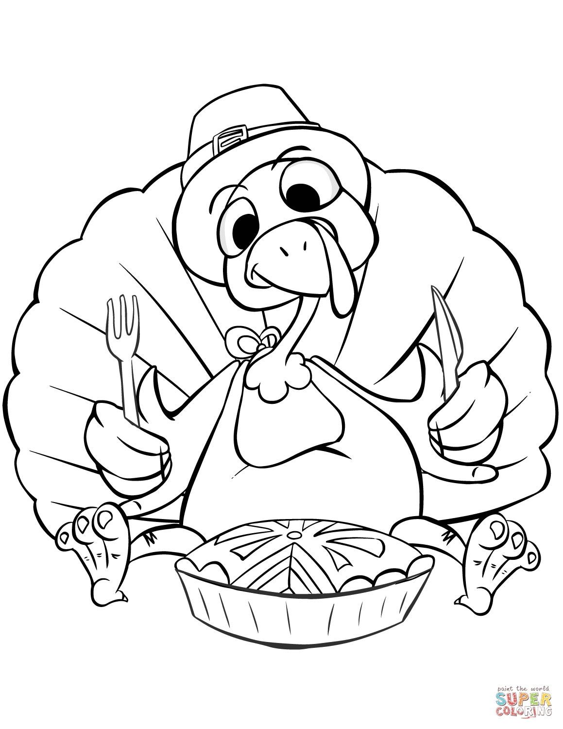 thanksgiving coloring pages free - thanksgiving dinner