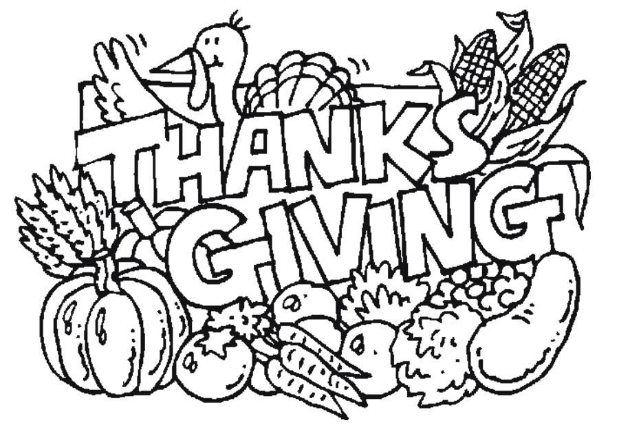 Thanksgiving Coloring Pages - Free Printable Thanksgiving Coloring Pages for Kids