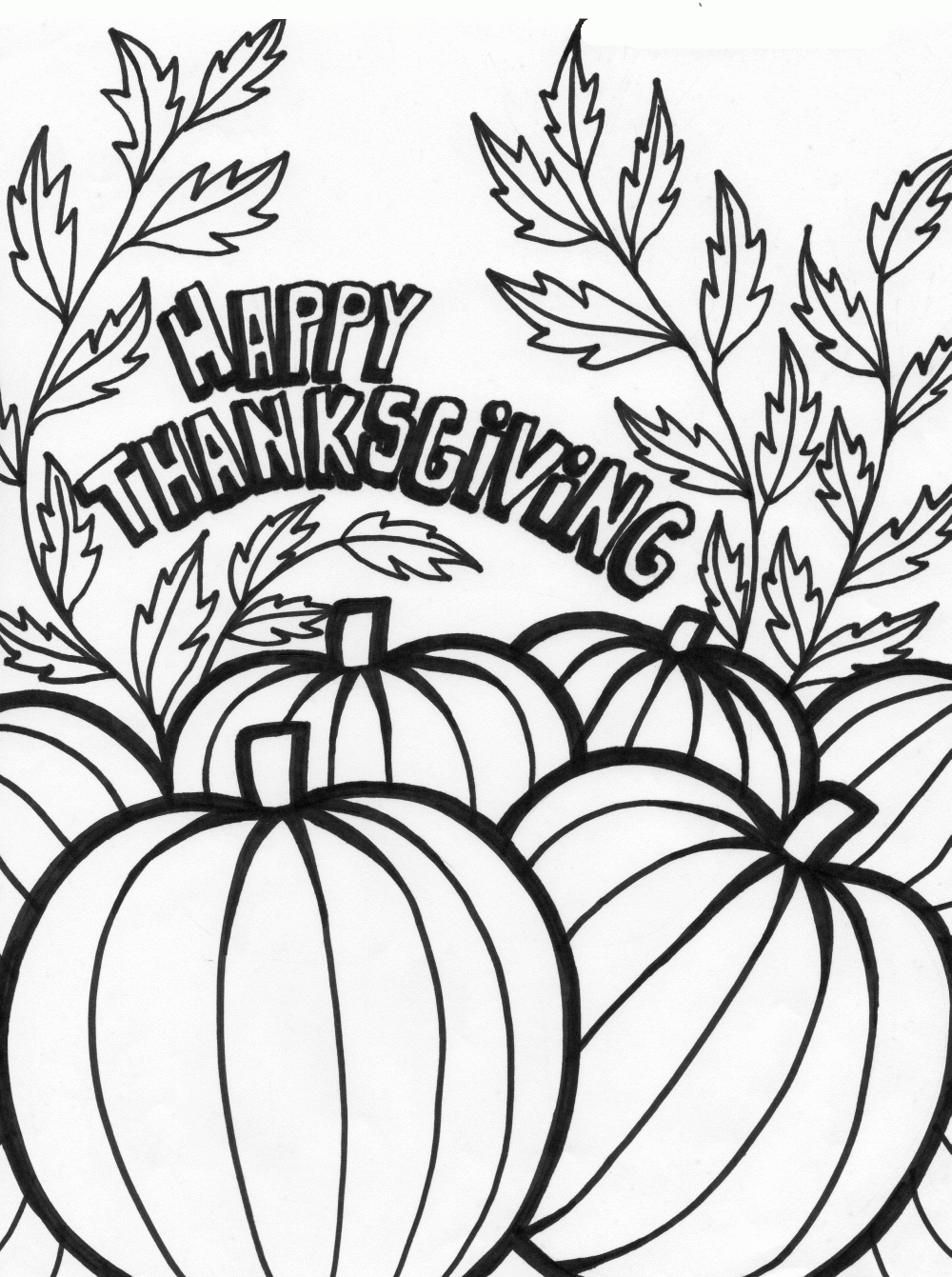 thanksgiving coloring pages - happy thanksgiving coloring pages