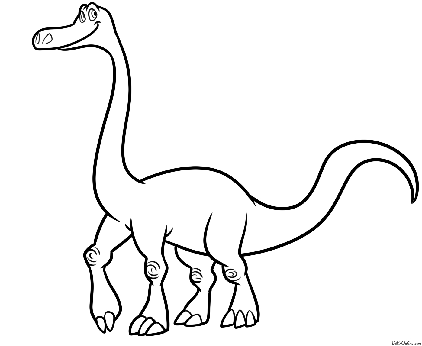 the good dinosaur coloring pages - raskraska