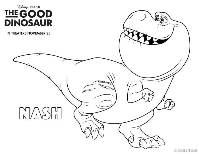 the good dinosaur coloring pages - the good dinosaur preview coloring pages