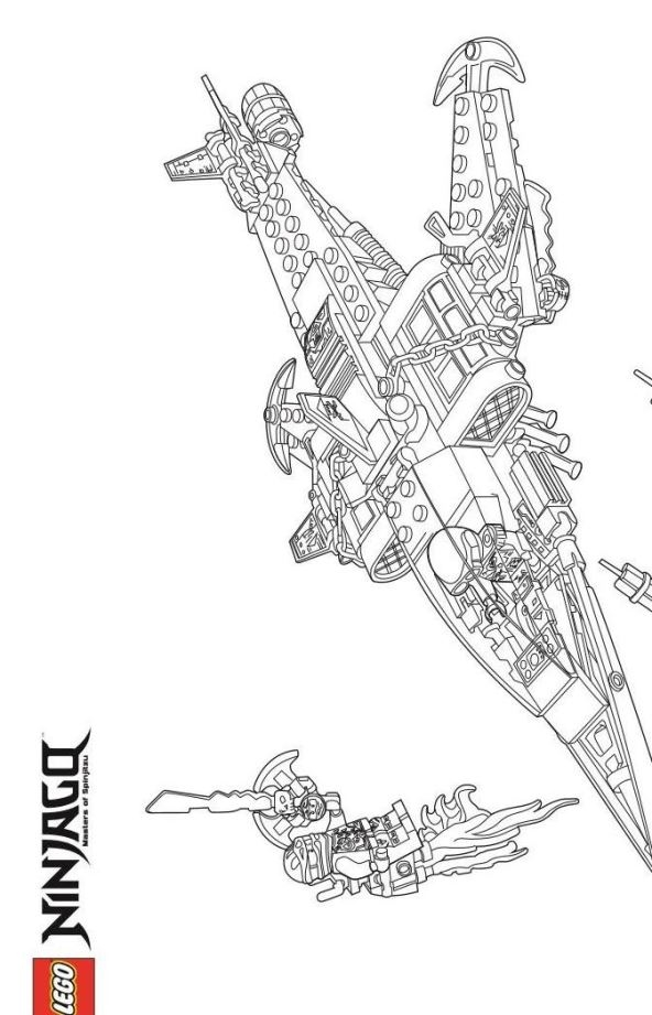 the joker coloring pages - lego ninjago