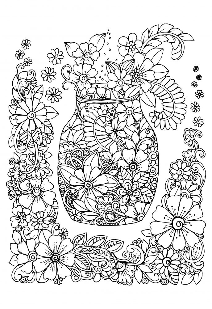 therapy coloring pages - how adult colouring therapy could improve your mental health
