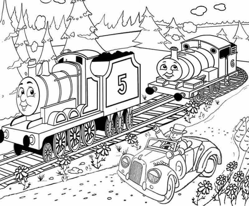 Thomas and Friends Coloring Pages - Free Printable Thomas the Train Coloring Pages for You