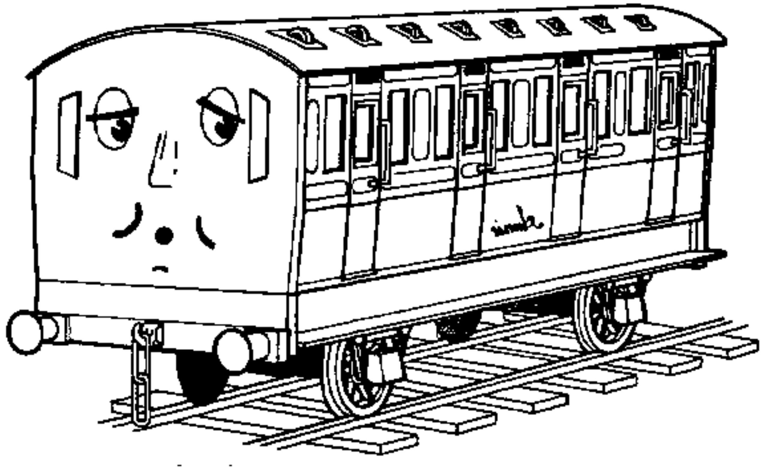 thomas and friends coloring pages - printable thomas the train coloring pages