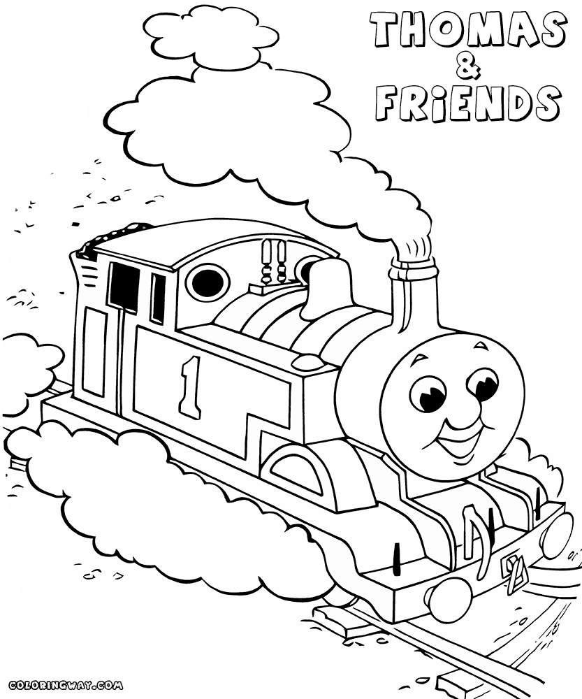 thomas and friends coloring pages - thomas and friends coloring pages