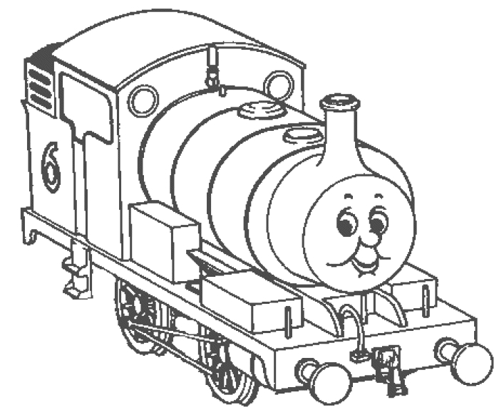 thomas and friends coloring pages - thomas and friends