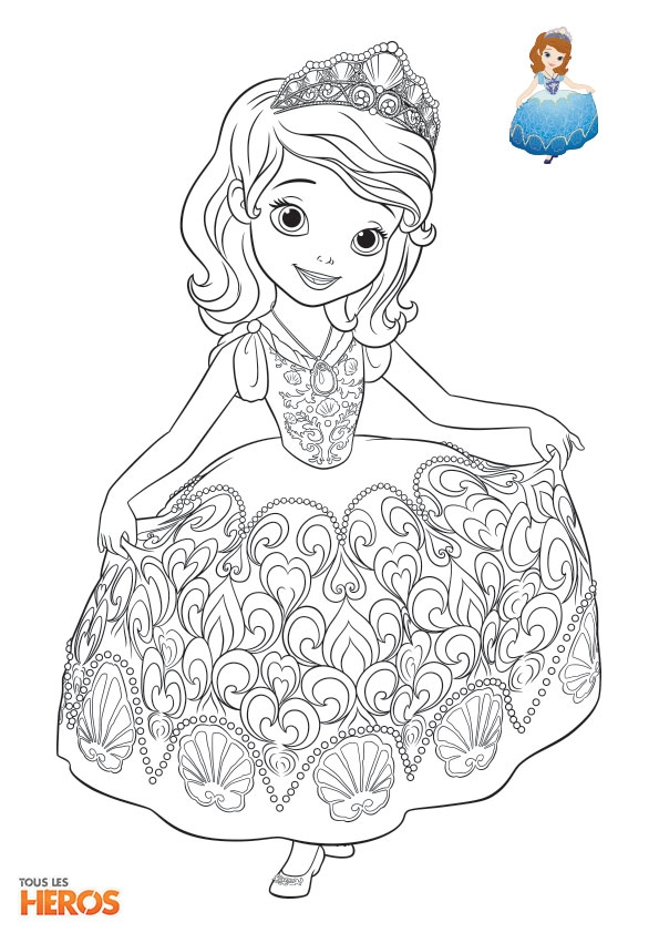 thor coloring pages - coloriages sofia la princesse