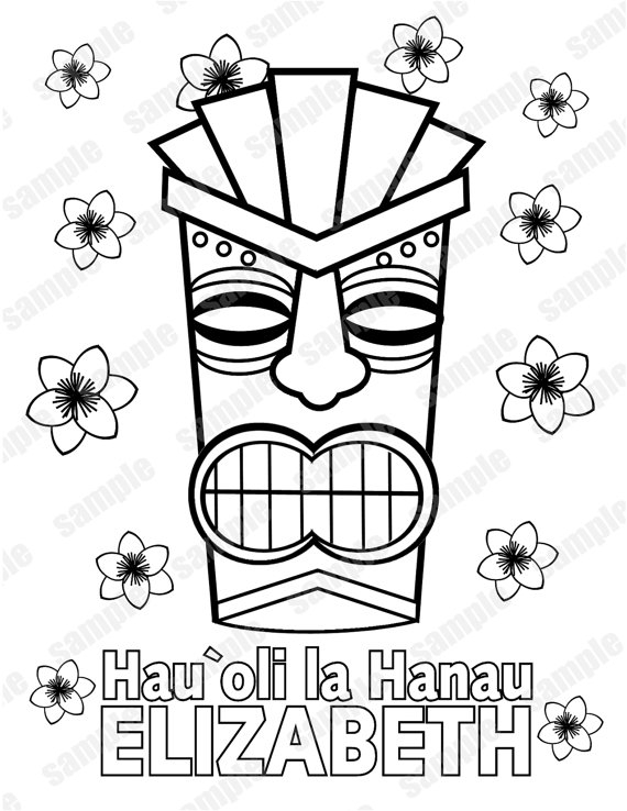 20 Tiki Coloring Pages Printable | FREE COLORING PAGES - Part 3
