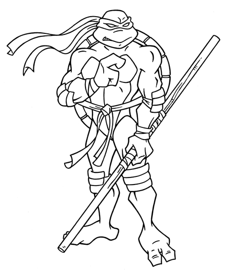 tmnt coloring pages - mutant ninja turtles coloring pages