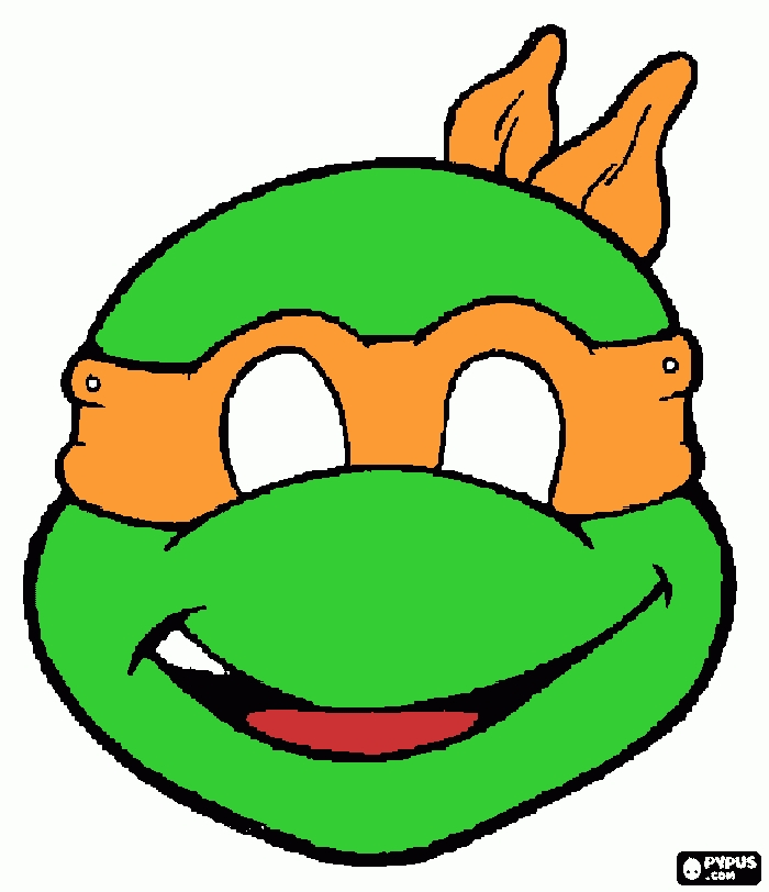 tmnt coloring pages - coloring page mikey tmnt