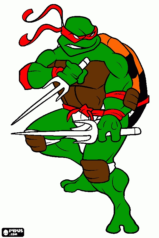 tmnt coloring pages - coloring page tmnt raf