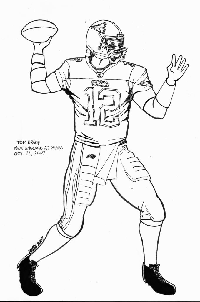 tom brady coloring pages - tom brady coloring pages