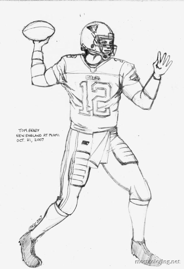 tom brady coloring pages - tom brady coloring pages printable