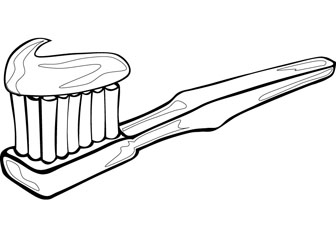 23 toothbrush Coloring Page Selection | FREE COLORING PAGES - Part 2