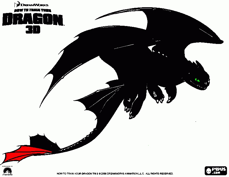 Coloring Pages How To Train Your Dragon : 21 toothless coloring pages collections free coloring pages part 2