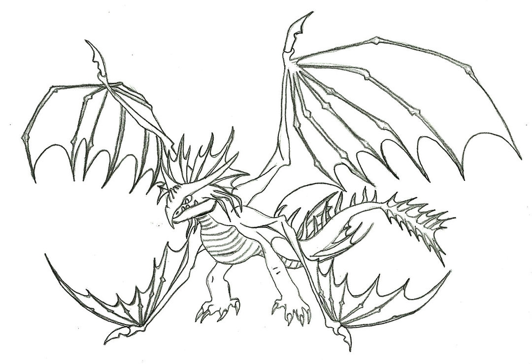 toothless coloring pages - dreamworks dragons coloring pages coloring pages printable and
