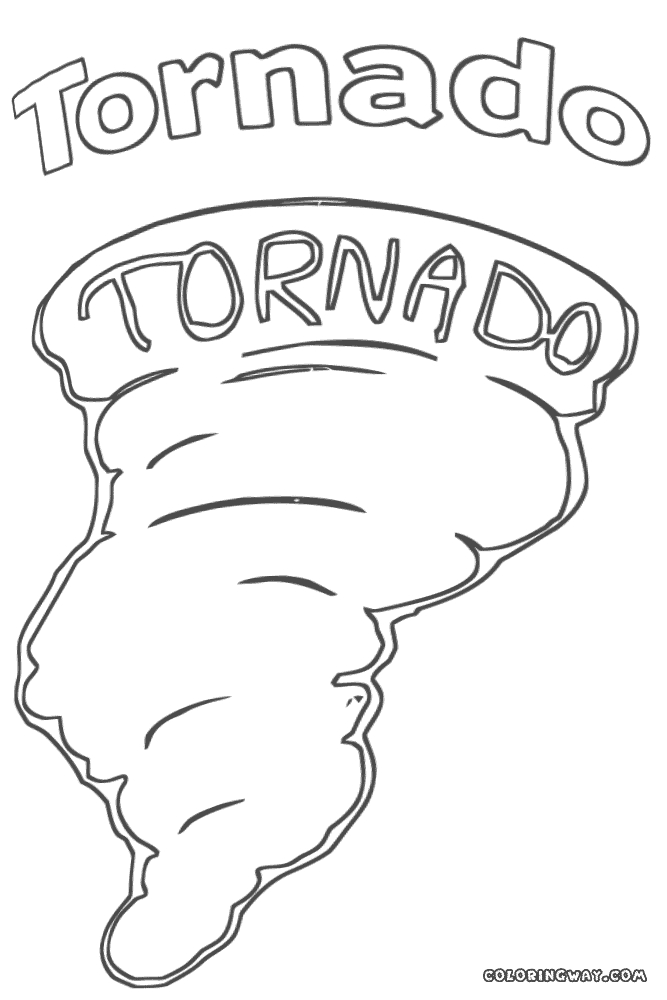 27 tornado Coloring Pages Printable | FREE COLORING PAGES