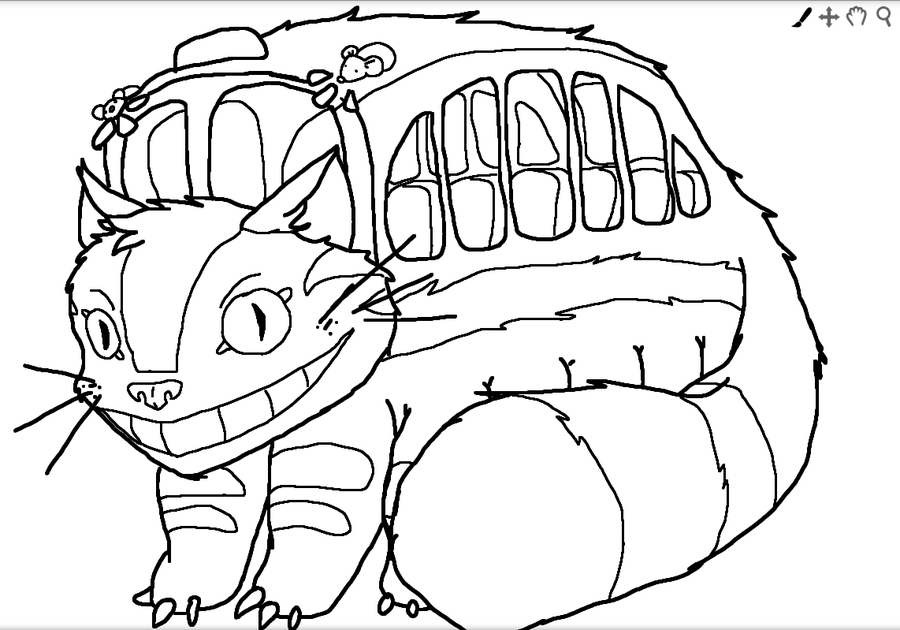 28 Totoro Coloring Page Images Free Coloring Pages Part 2