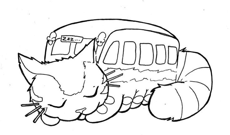 totoro coloring page totoro coloring pages - Totoro Coloring Pages