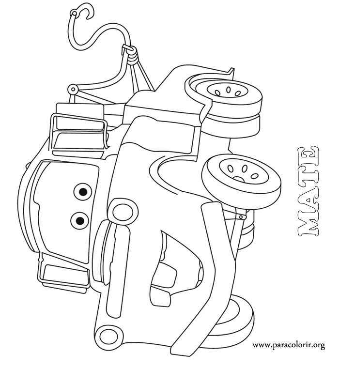 tow truck coloring pages - printable coloring pages cars