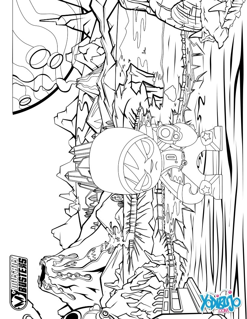 tower of babel coloring page - apocalipsis samurai