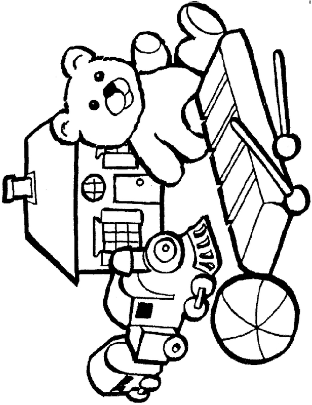 toys coloring pages - clipart 9cpekAygi