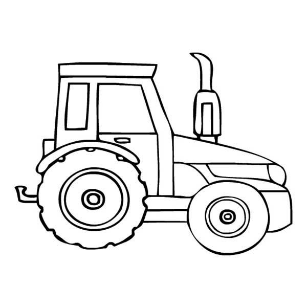 tractor coloring pages - q=and tractor