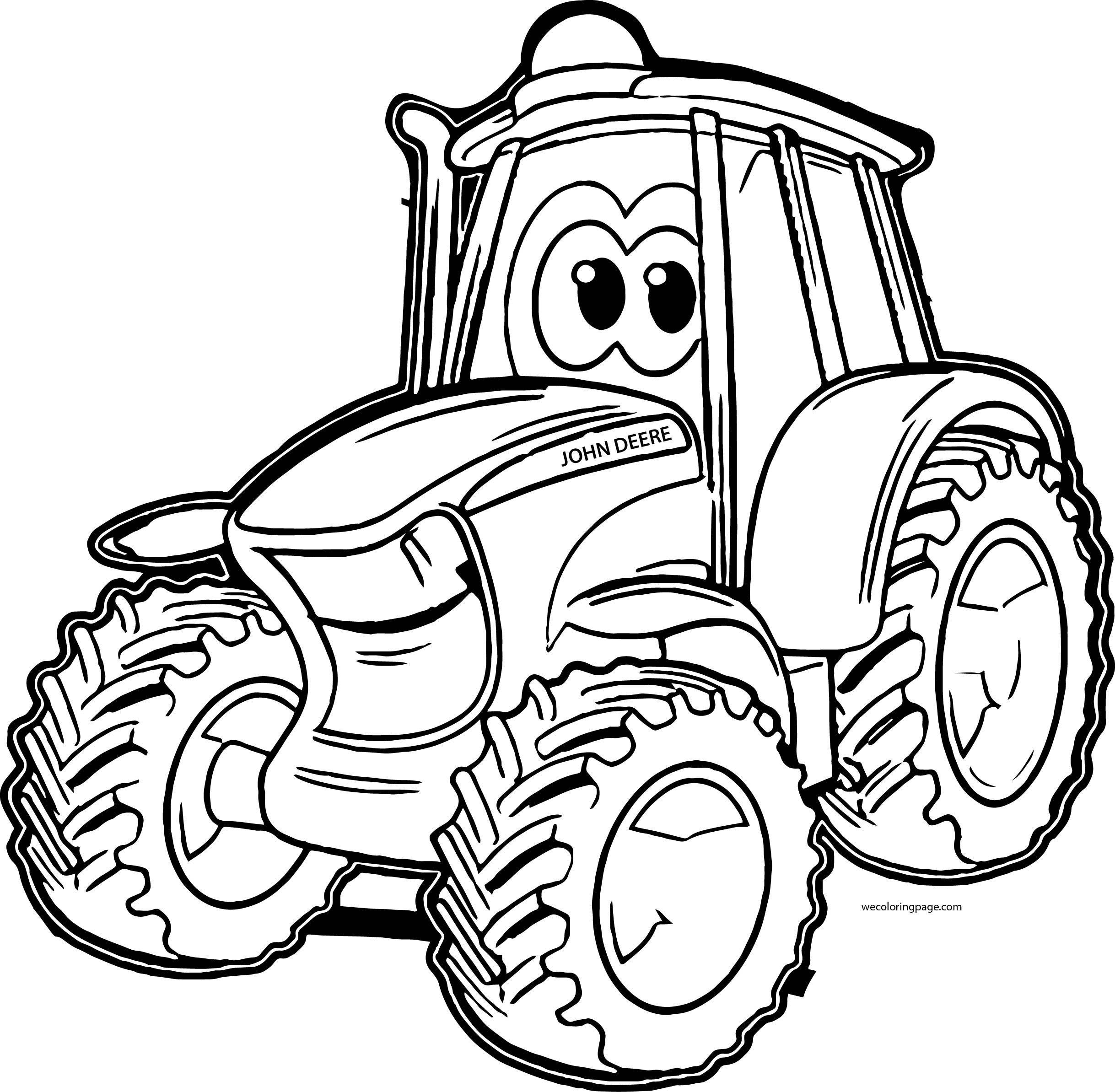 tractor coloring pages - john deere tractor coloring pages sketch templates