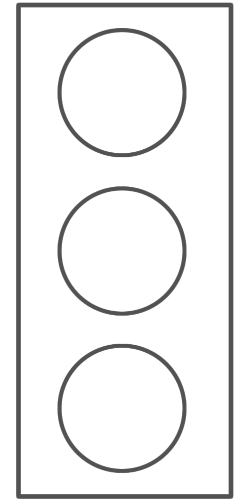 traffic light coloring page - traffic light colouring picture