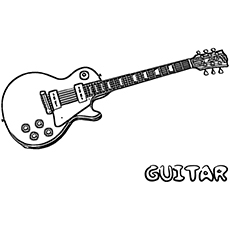 Transformers Coloring Pages Free - top 25 Free Printable Guitar Coloring Pages Line