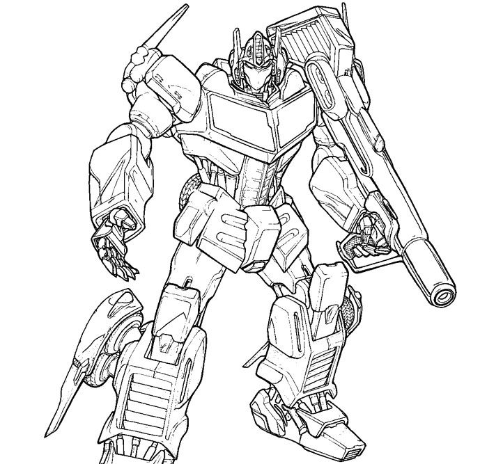transformers coloring pages free - transformers optimus prime coloring pages
