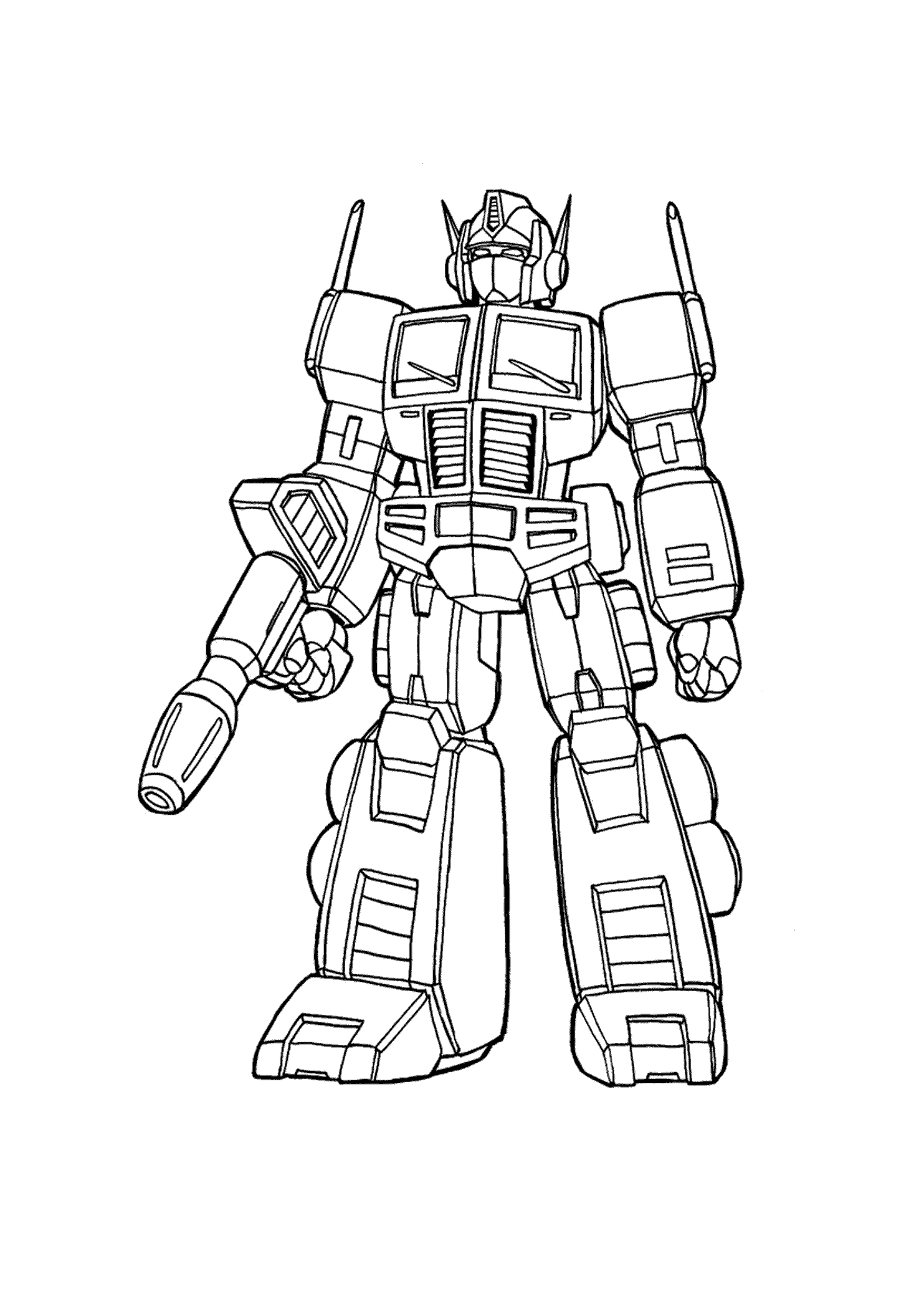 24 Transformers Coloring Pages Selection Free Coloring Pages Part 2