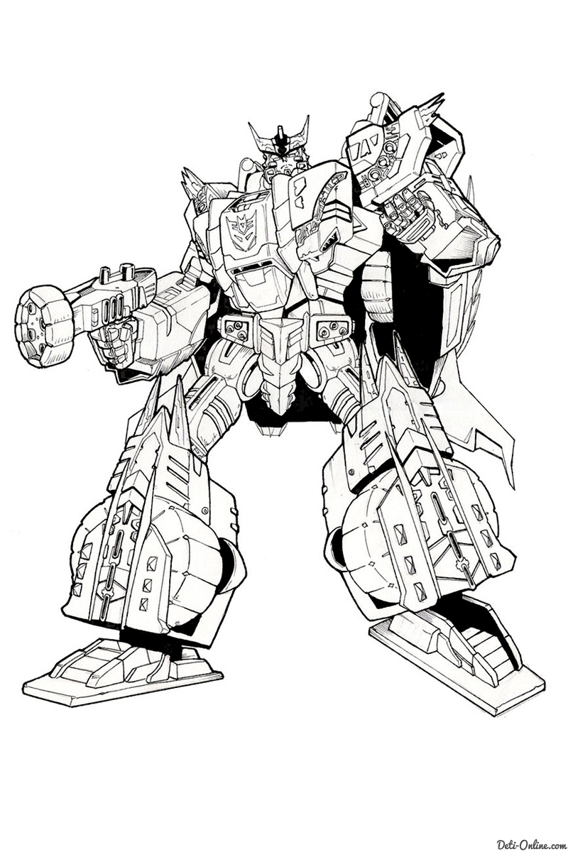 transformers coloring pages - 2326