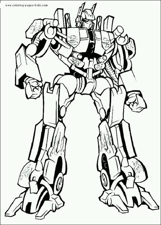 transformers printable coloring pages - transformers