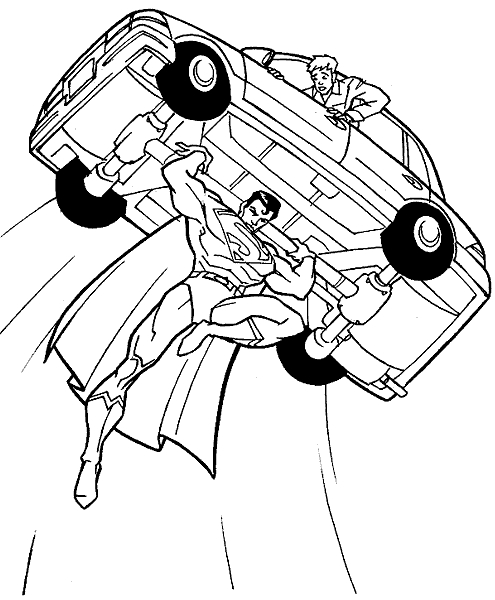 transformers printable coloring pages - superman coloring pages