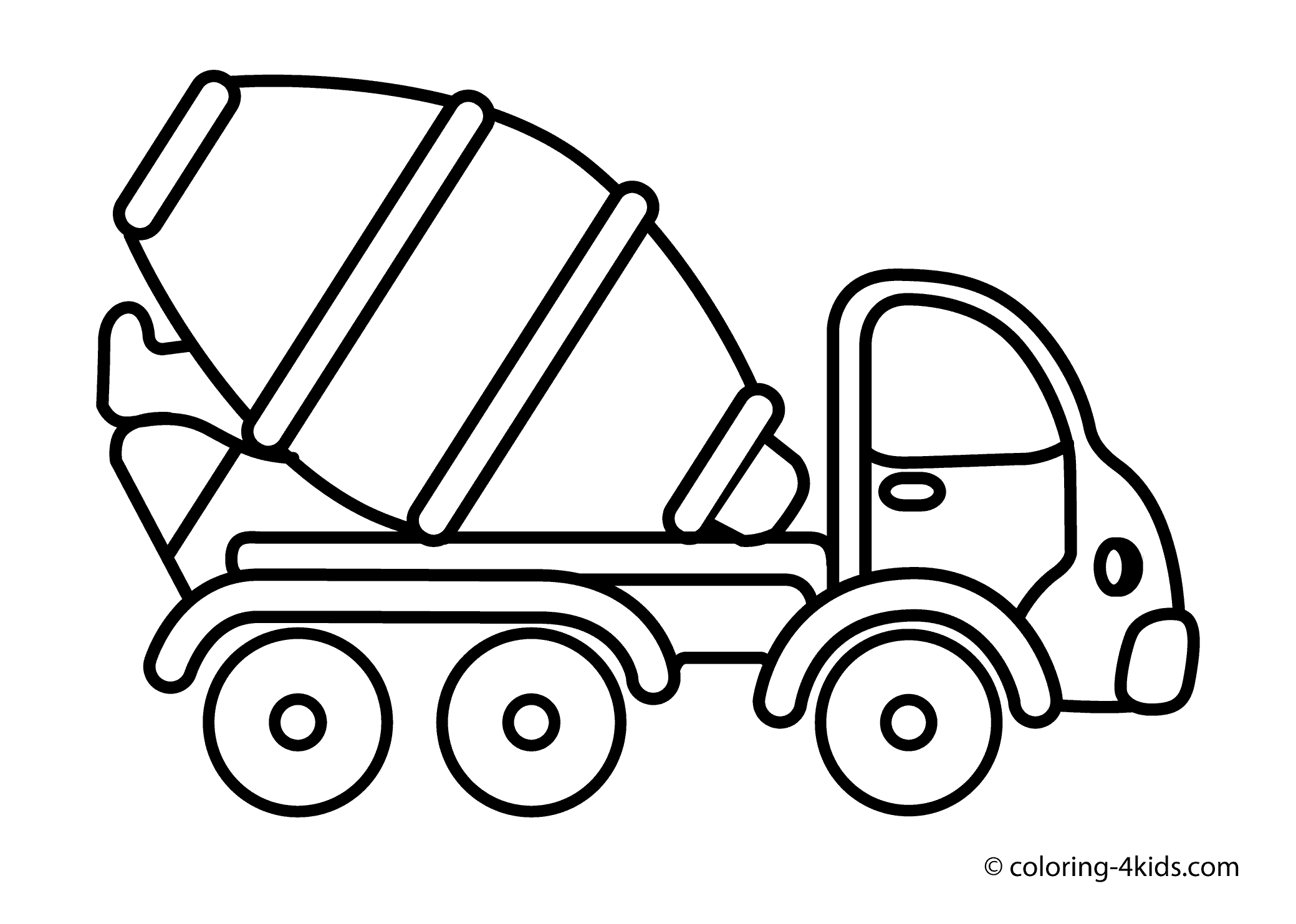 transportation coloring pages -