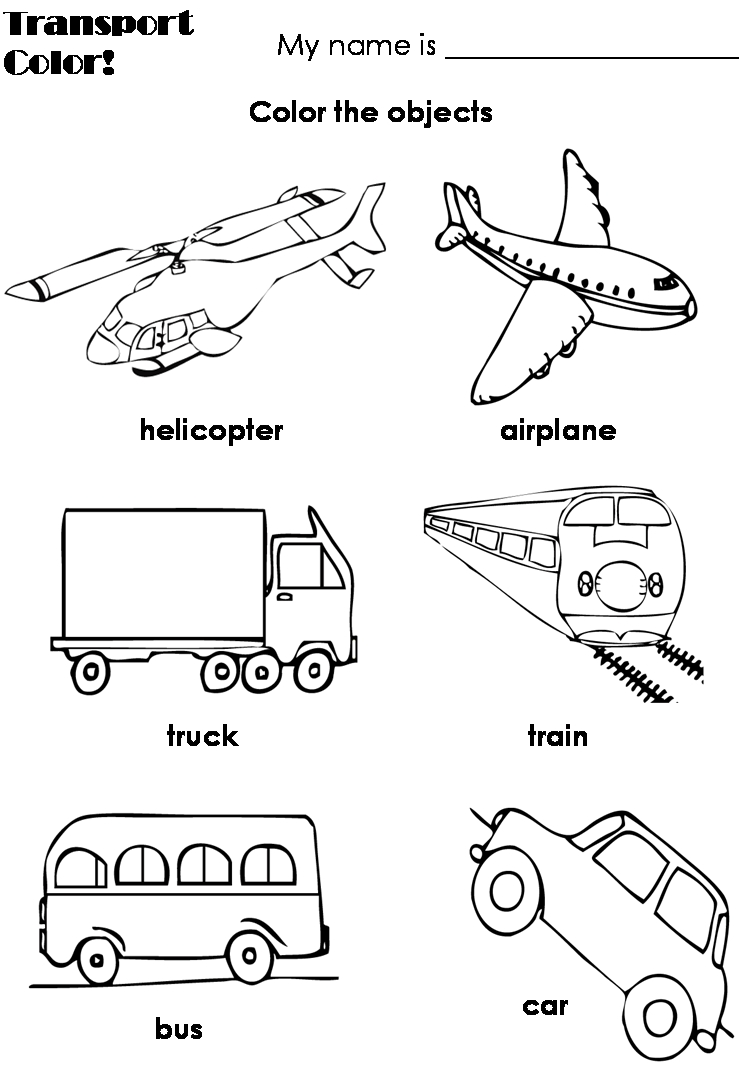 transportation coloring pages - q=transportation vehicles